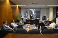 Professora da Universidade de Haia visita o Instituto Legislativo Brasileiro