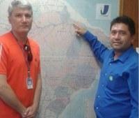 Presidente da Câmara de Chaves, cidade na Ilha de Marajó, visita o Interlegis