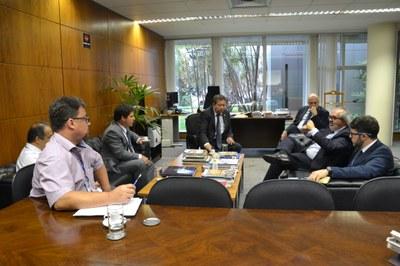 Senador Roberto Muniz (PP-BA) visita o Interlegis/ILB