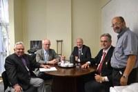 Presidente da Câmara de Arabutã (SC) e vereador de Xanxerê (SC) visitam o Interlegis