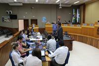 24 alunos participam da Oficina Interlegis de Portal Modelo em Foz do Iguaçu