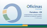 Assembleia Legislativa do Ceará sedia Oficina Interlegis de Cerimonial de 17 a 20 de outubro