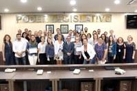 Oficina Interlegis de Cerimonial em Blumenau reuniu servidores da Câmara e da Prefeitura