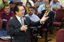 Cerimonial e o papel do vereador são temas no segundo dia de Encontro de Legisladores Municipais