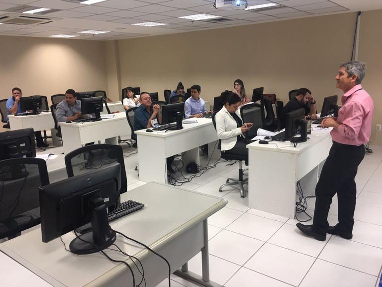 Em Fortaleza, servidores de câmara aprendem como utilizar o SAPL