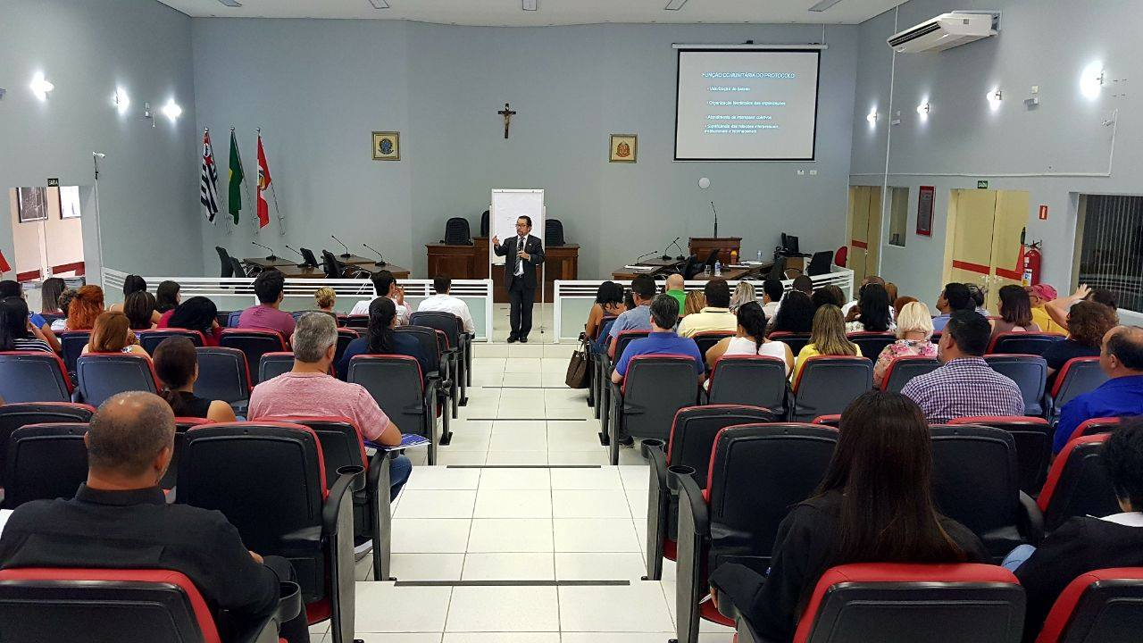 Oficina Interlegis de Cerimonial reúne 80 participantes em Miracatu, São Paulo