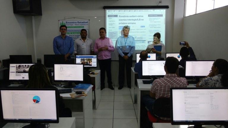 Oficinas Interlegis em Rondônia atraem Câmaras do Acre e Amazonas