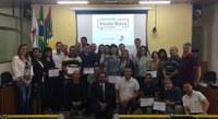 Participantes de Oficina Interlegis em Ponte Nova recebem certificados