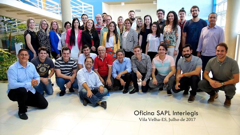Presidente da Câmara de Vila Velha, Ivan Carlini encerra Oficina Interlegis de SAPL