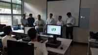 Presidentes das Câmaras de Cáceres e Nova Lacerda comparecem à abertura das Oficinas Interlegis