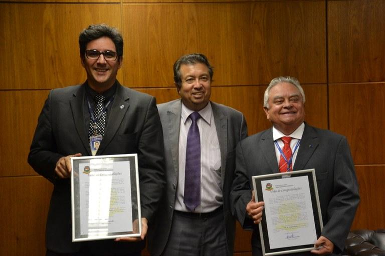 Servidores do ILB recebem reconhecimento da Câmara de Teresópolis
