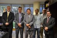 Servidores do Ministério da Agricultura visitam o Interlegis/ILB para acertar parceria