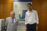 Vereador de Cachoeira (BA) vem ao ILB solicitar Portal Modelo