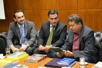 Vereador de Maracanaú (CE) se reúne com diretor-executivo do ILB/Interlegis