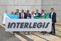 Comitiva da Câmara de Rudolfo Fernandes visita o ILB/Interlegis