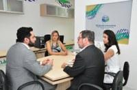 Coordenador do Interlegis se reúne com direção da Escola do Legislativo para firmar parcerias com a CMA