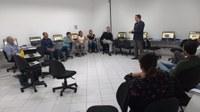 Em Praia Grande, oficina Interlegis ensina participantes a colocarem os site das câmaras em funcionamento