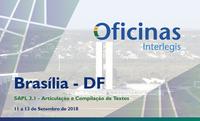 """Nova oficina Interlegis detalha módulo do SAPL que permite enxergar """"linha do tempo"""" das leis"""