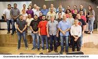 Oficina Interlegis no Paraná chega ao fim com painel eletrônico em funcionamento