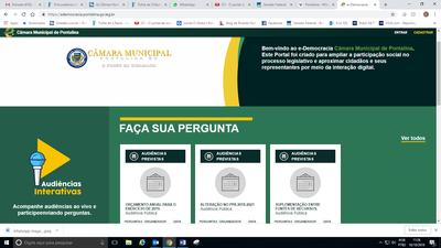 Pontalina, em Goiás, é primeira cidade do interior a fazer audiências públicas pelo e-Democracia