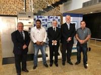 Presidente da Câmara Municipal de Ribeirão Branco (SP) visita sede do Interlegis