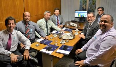 Representantes da Câmara Municipal de Mendes (RJ) visitam o Interlegis