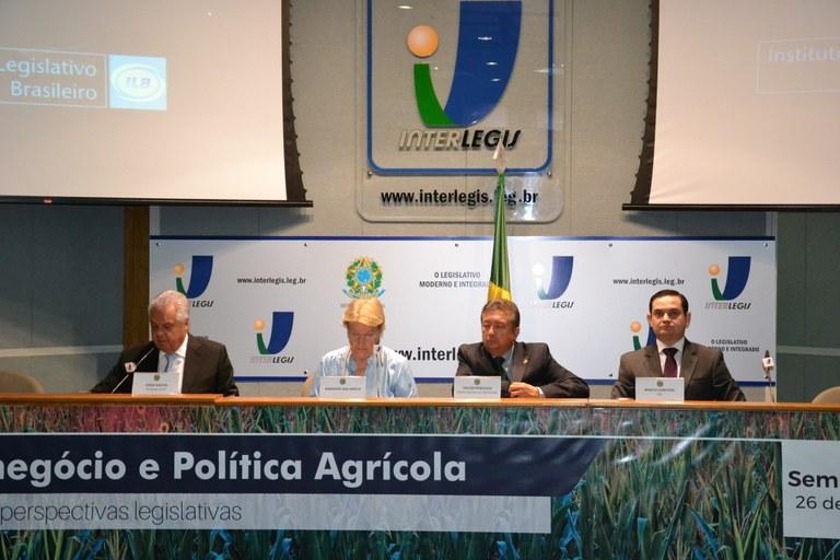 Segurança jurídica, Infraestrutura e Inovação Tecnológica são temas do Seminário ILB sobre Política Agrícola e Agronegócios