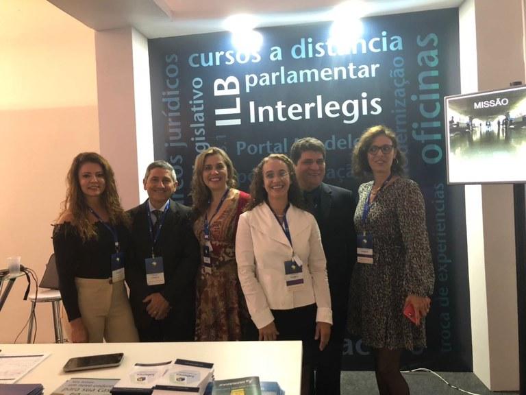 Servidores do ILB/Interlegis fazem palestras para entidades legislativas de todo o país