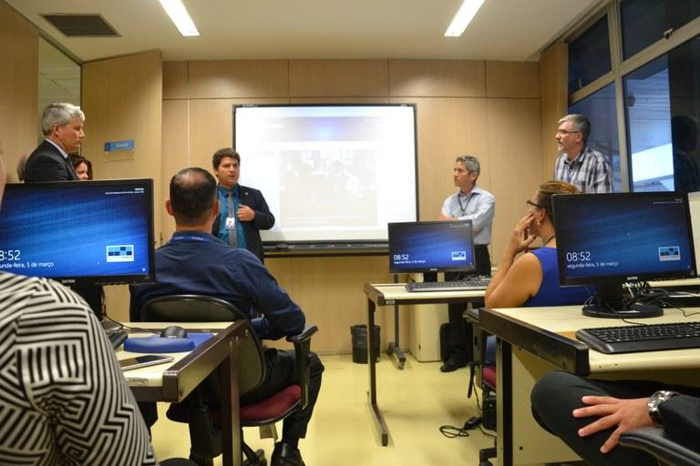 Tem início, em Brasília, Oficina de SAPL 3.1