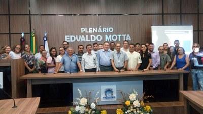 Vereadores avaliam realização da Oficina Interlegis ocorrida na Câmara Municipal de Patos