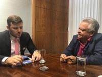 Vice-presidente da Câmara de Vilhena (RO) quer oficina Interlegis