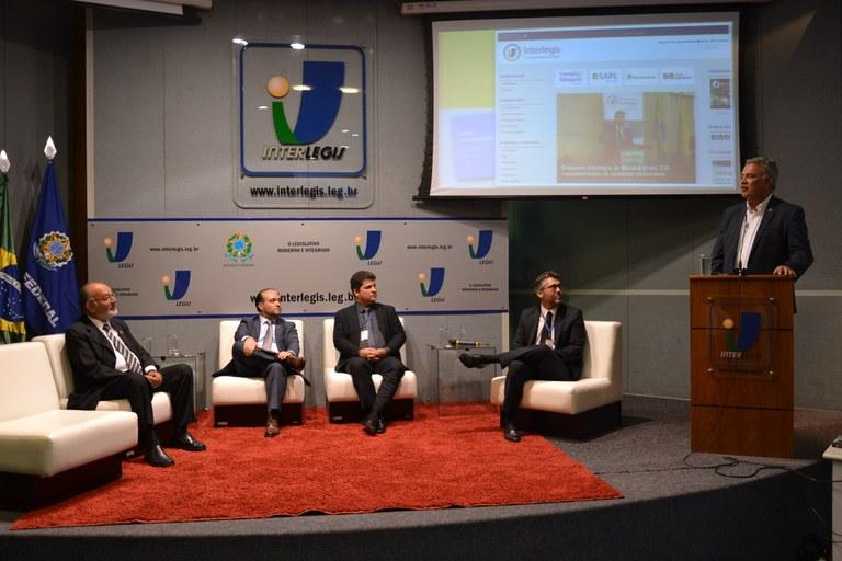 Ações do Interlegis/ILB são apresentadas em Encontro