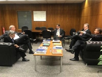 Assembleia do Maranhão quer reativar parceria com Interlegis