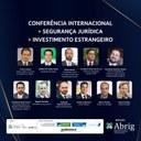 Conferência Internacional discute impactos da insegurança jurídica nos investimentos estrangeiros