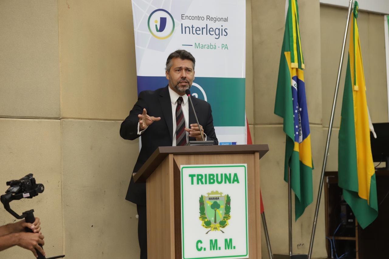 Encontro Interlegis de Marabá atraiu 230 representantes de quatorze municípios