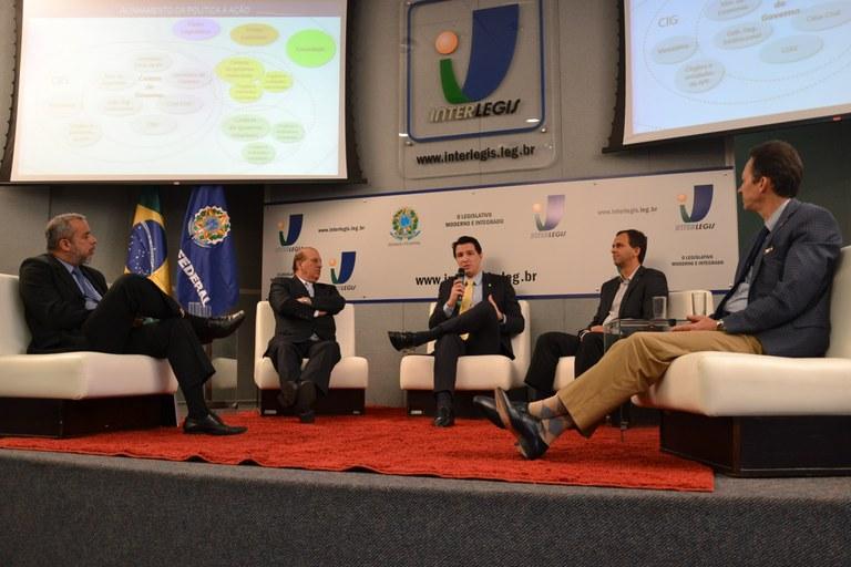 Especialistas em Governança discutem o tema em Encontro Interlegis/ILB