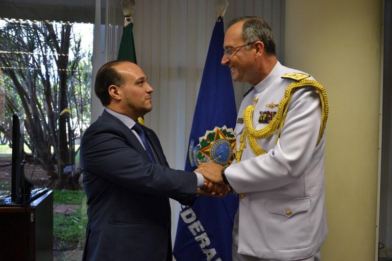 Interlegis/ILB e Marinha do Brasil assinam acordo de cooperação