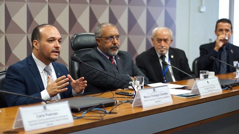 Interlegis/ILB participa de audiência pública na CDH do Senado Federal