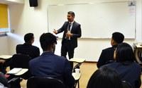 Interlegis promove palestras com universitários do Estágio Visita