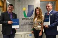 Presidente da Câmara de Rio Claro quer fortalecer parceria com Interlegis