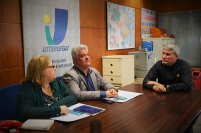 Presidente da Câmara Municipal de Teixeira de Freitas (BA) discute parceria com o Interlegis