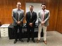 Vereador de Porto Velho vem ao Interlegis conhecer os produtos e ações do Programa