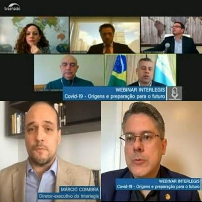 Os palestrantes analisaram o cenário pós-pandemia e as consequências deste período na economia e nas relações comerciais e diplomáticas.
