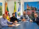 Câmara de Vereadores de Canela (RS) recebe Diretor Executivo do Interlegis