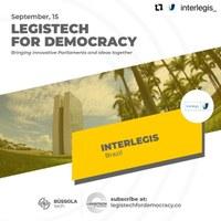 Dia Internacional da Democracia: Interlegis integra evento mundial sobre transformação digital no Legislativo