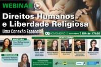 Direitos Humanos e Liberdade Religiosa serão debatidos em Webinar do Interlegis