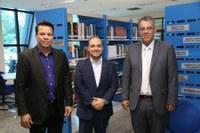 Diretor do Interlegis realiza visita técnica ao TCE/TO