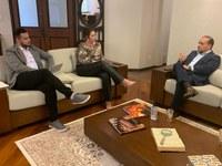 Diretor Executivo do Interlegis cumpre agenda de visitas no Rio Grande  do Sul