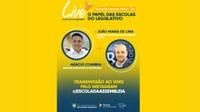 Diretor executivo do Interlegis participa de Live no Instagram da Escola da Assembleia do Rio Grande do Norte