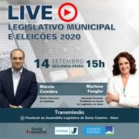 Diretor-executivo do Interlegis participa de Live sobre o Legislativo municipal
